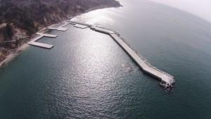 金華山防波堤